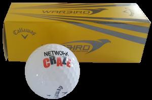 Network Craze Golf Balls (3 pack): 3 pack of Callaway Warbird Golf Balls