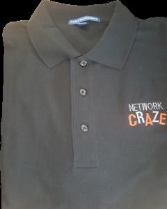 Network Craze Golf Shirt: Golf Shirt available in Small - 3XL