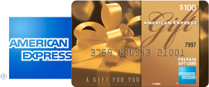 American Express Gift Card: Treat yourself to whatever you want, wherever you want with $100 AmEx card